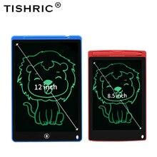 Tishric monocromático 8.5 graphics//12 graphics graphics gráficos tablet crianças brinquedos escrita tablet para crianças desenho almofada/placa presente de natal