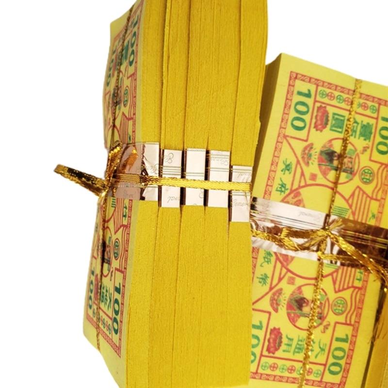 Jogos de dinheiro ancestral 350 pçs joss papel dinheiro fantasma dinheiro chinês joss papel dinheiro w8ea