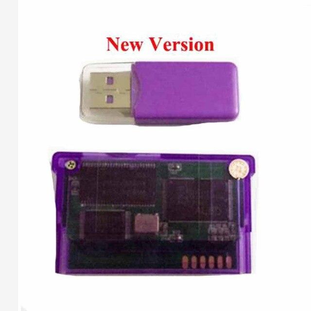 Nova versão suporte tf cartão para game boy advance game cartucho para gba/gbm/ids/nds/ndsl