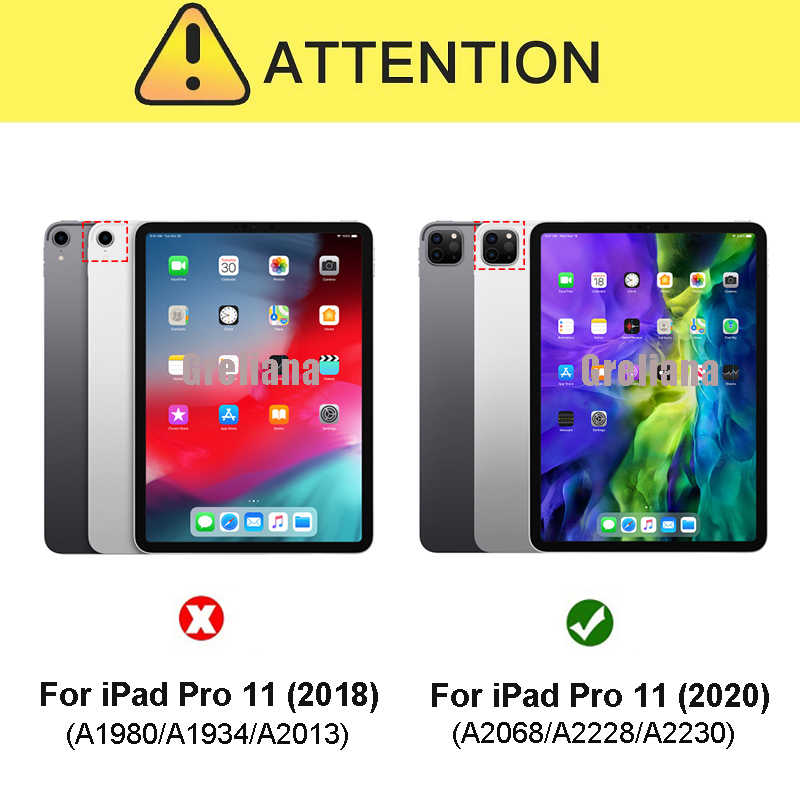 Shockproof 11 Pro For Case Cover Holder Stand Flip Armor 2020 iPad New Pencil With Case