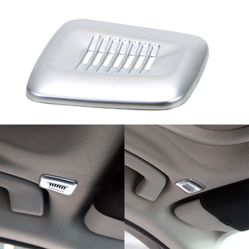 Interior Roof Dome Microphone Cover Trim ABS Styling Mouldings For BMW F30 F32 F07 F10 F15 F12 F25 X3 X5 3 4 5 6 Series image