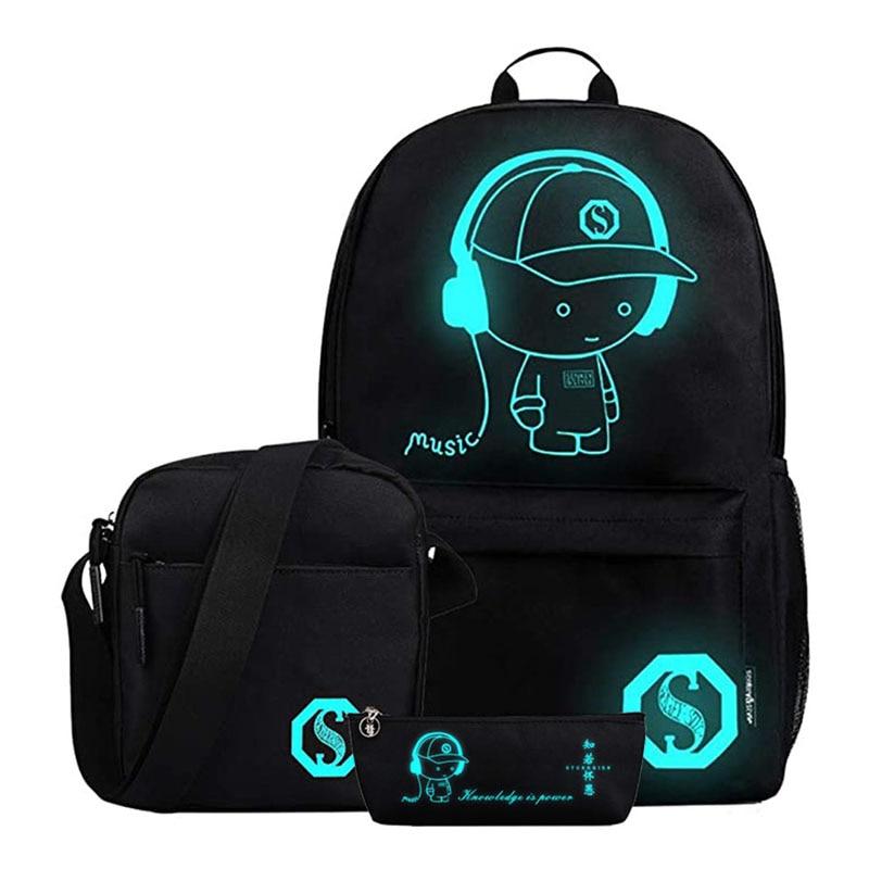 New School Backpack For Boy Girls Middle School Cartoon Bookbag Children Cool Student Backpack Kids Waterproof Oxford Schoolbag