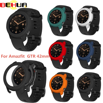 Protector Case for Xiaomi AMAZFIT GTR 42mm PC Watch Cases New Cover Shell Frame Protector for Huami Amazfit GTR 42mm Accessories soft slicone protective case cover protector frame shell colorful slim for huami amazfit verge watch accessories
