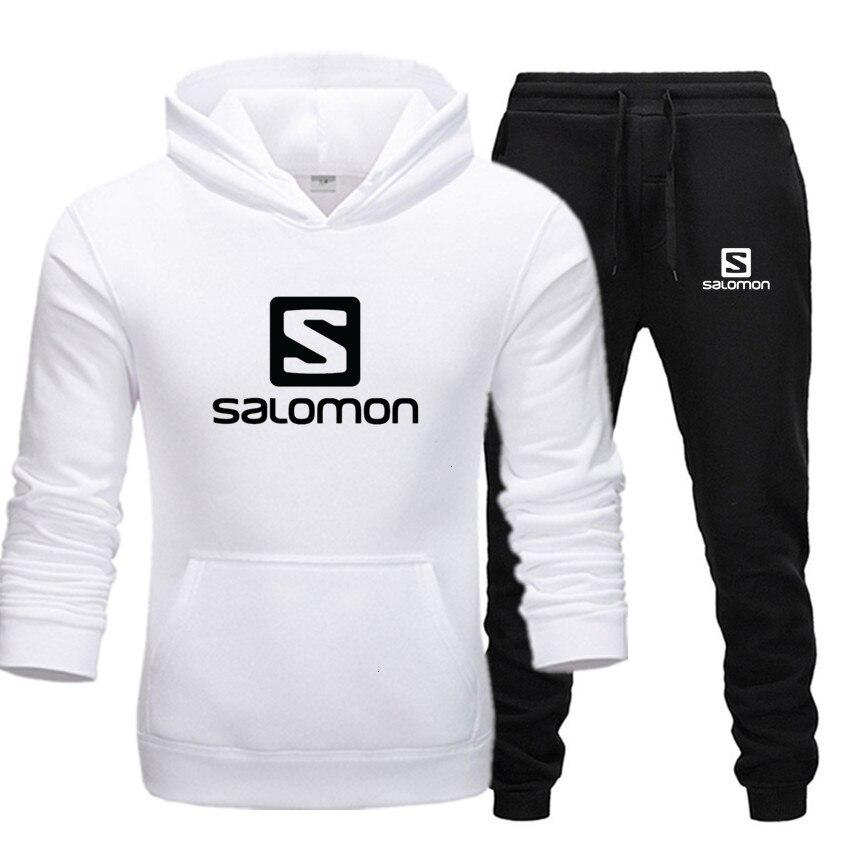 2019 Winter Suit Men's Sportswear + Speedcross Pants Printed Men's Sportswear Everyday Sportswear Salomon Vetement