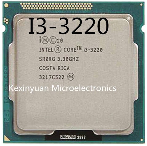 Intel Core I3-3220 I3 3220 Processor (3M Cache, 3.30 GHz) LGA1155 Dual-Core PC Computer Desktop CPU CPU