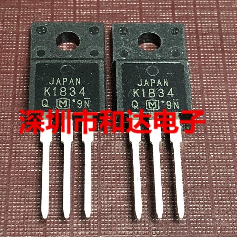 10pcs K1834 2SK1834 TO-220F 800V 2A