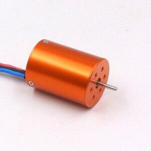 Image 5 - Fatjay Borstelloze Inrunner 4 Pole Sensorless Motor 2838 2800KV 3800KV Voor Rc Auto Boten 380 390 Upgrade Motor