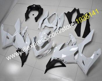 For Kawasaki Motorcycles Ninja 400 Ninja400 Ninja-400 2018 2019 2020 Black White Bodywork Fairing Kit (Injection molding)