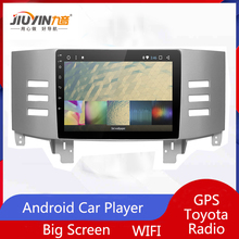 JIUYIN audio car radio stereo navigator bluetooth Android Car Multimedia Player GPS For Toyota Reiz Mark x 2007 2008 2009