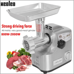 XEOLEO Homeuse Meat grinder Enema machine Electric grinder Aluminum Meat Shredded machine Mini Sausage Enema function 30KG/H