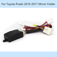 Auto Automatisch 2 Seite Spiegel Ordner Foding Verbreiten Kit Stecker und Spielen Für Toyota Prado 2010-2020
