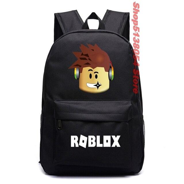 Roblox Rucksack Kinder Schultasche Studenten Jungen Bookbag Handtaschen Travelba