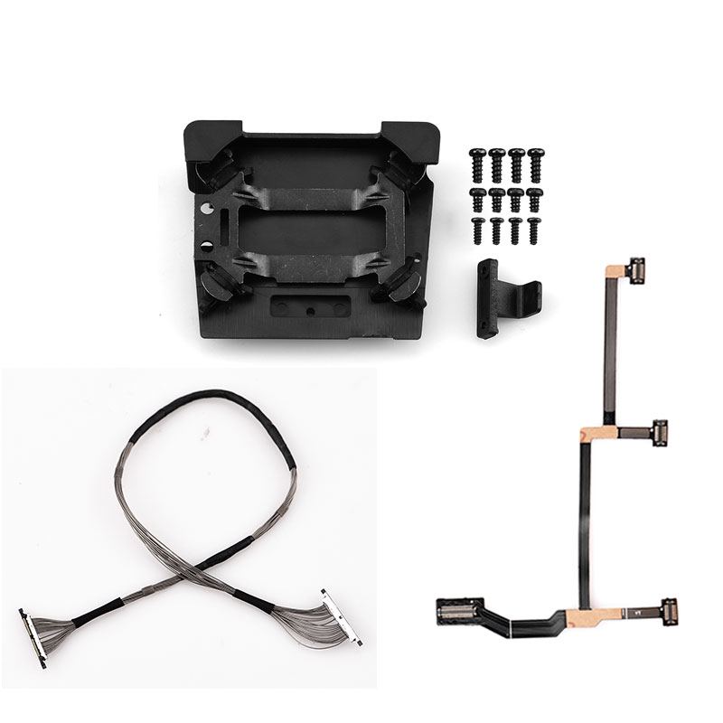 Signal Cable Wire Line Flat Cable Damper Plate Shock Absorber for Mavic Pro with Screw Mount Board for DJI Mavic Pro