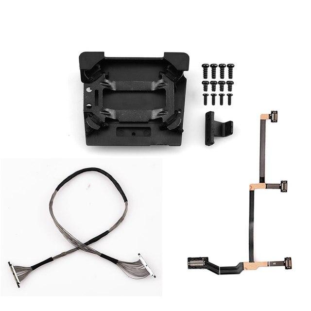 Sinyal kablo tel hattı düz kablo Damper plakası amortisör Mavic Pro vidalı bağlantı kurulu DJI Mavic Pro için