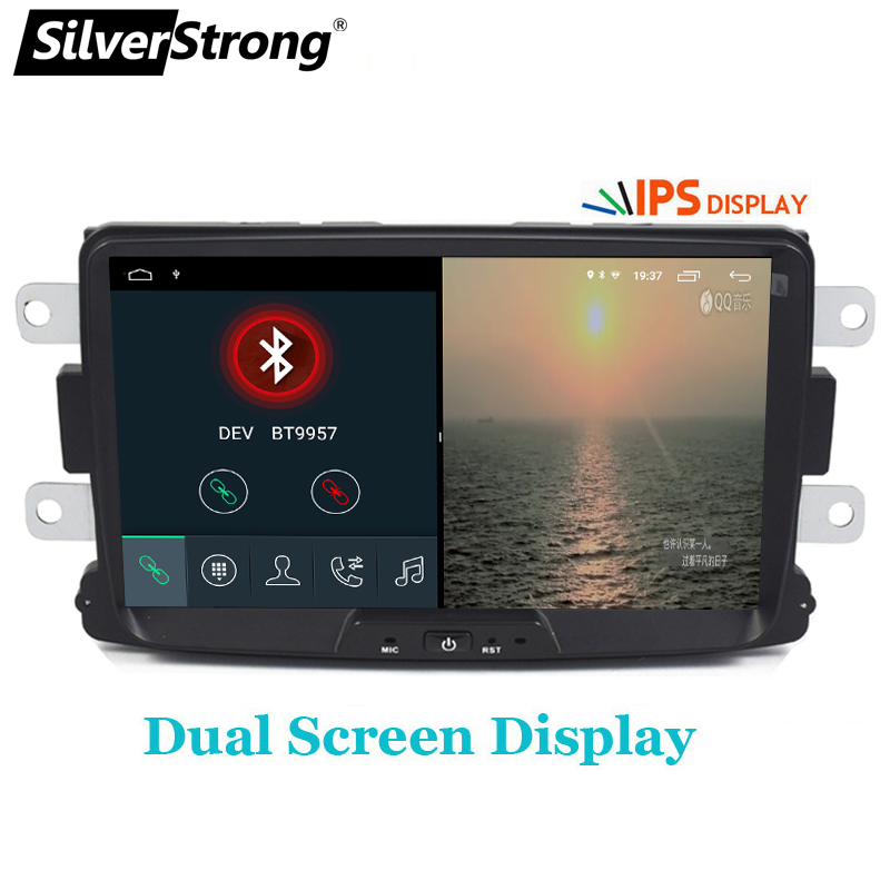 Image 3 - SilverStrong Car Multimedia player Android 9 Automotivo radio For Dacia Sandero Duster Renault Captur Lada Xray 2 Logan-in Car Multimedia Player from Automobiles & Motorcycles
