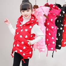 Moda 2020 Crianças Meninas Vest Crianças Outono Inverno Bebê Outwear Moda Infantil Jaquetas Amassado Primavera Colete para Adolescente
