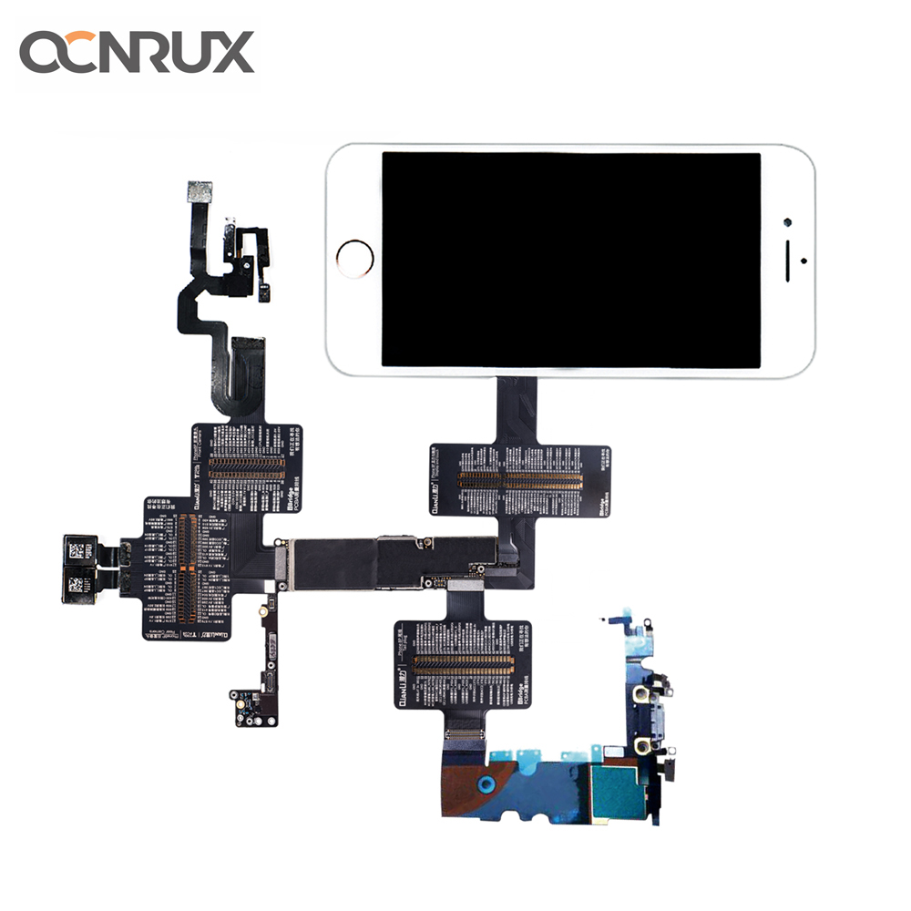 Qianli iBridge Measure Test FPC Cable for iPhone 6 6P 6S 6SP 7 7P 8 8P X Mainboad Repair PCB Fault Checking