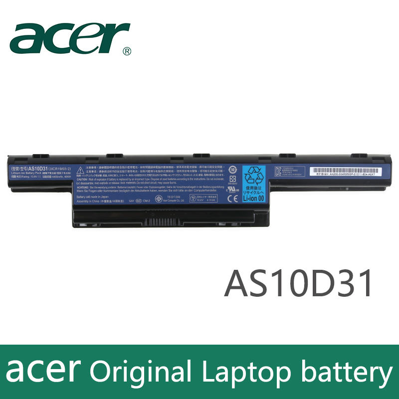 Original Laptop Battery For Acer 4551G 4741G 5741G 5742G 5750G 7750G 7760G AS10D51 AS10D71 AS10D81 AS10D73  AS10D31