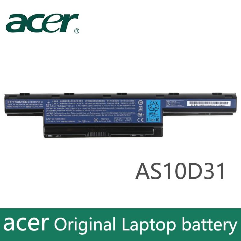 Original Laptop Battery For Acer 4551G 4741G 5741G 5742G 5750G 7750G 7760G AS10D51 AS10D71 AS10D81 AS10D73  AS10D31
