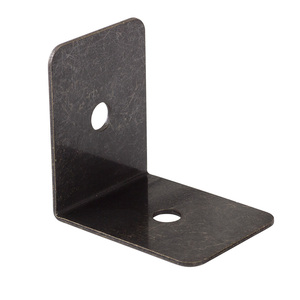 Image 4 - Black and Bronze Color Options Iron metal corner Bracket protector with free screws for Table or Cabinet Top Panel Leg etc