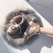 Обувь маленького размера; Цвет белый; Женские осенние и зимние