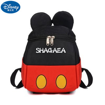 Disney Mickey mouse Minnie Kids primary school student Boys and Girls Backpack bag for school bag   Travel backpack Gift disney mickey mouse backpack canvas soft fabric female pure colour student bag school vintage women girls travel bag gift