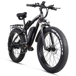 MX02S Sheng milo Электрический велосипед ebike 48V1000W Электрический горный велосипед 4,0 Толстая шина Электрический велосипед пляжный электровелосипе...