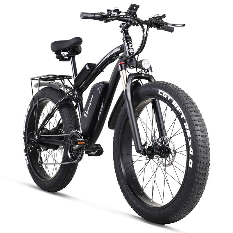 MX02S Sheng milo Electric bike ebike 48V1000W electric mountain bike 4.0 fat tire Electric Bicycle beach E-bike electric(China)