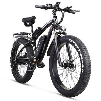 MX02S Sheng milo rower elektryczny ebike 48V1000W elektryczny rower górski 4.0 rower elektryczny na grubych oponach plaża e-rower elektryczny