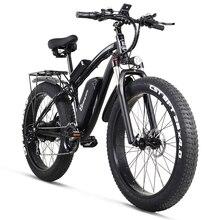 Shengmilo 전기 자전거 1000W 망 산악 자전거 스노우 자전거 전기 자전거 Ebike 48V17Ah 전기 자전거 4.0 지방 타이어 전자 자전거