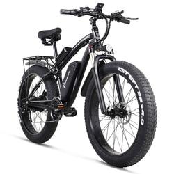 Shengmilo Electric Bike 1000W Mens Mountain Bike Snow Bike Electric Bicycle Ebike 48V17Ah Electric Bicycle 4.0 Fat Tire e bike