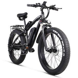 Image 1 - Shengmilo Elektrische Bike 1000W Herren Mountainbike Schnee Bike Elektro Fahrrad Ebike 48V17Ah Elektrische Fahrrad 4,0 Fett Reifen e bike