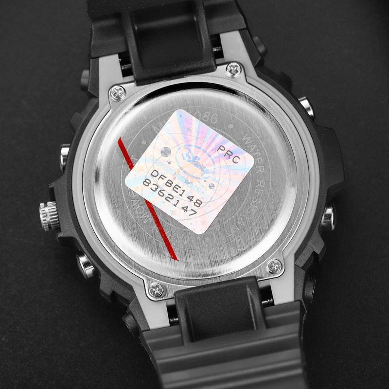 Дети Спорт 2020 Спорт Часы 5ATM Водонепроницаемость Резина Часы Дети Кварц Цифровой Часы Мальчики Прохладный Многофункциональный Часы Здоровый