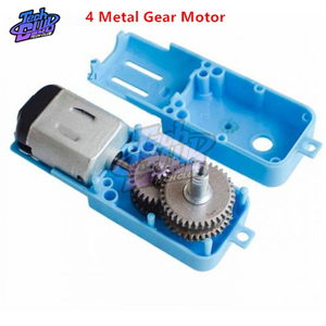 1:90 110RPM 3-6VDC Metal Gear Motor Single Shaft Axis Brushless DC Motor mini Gearbox motor for Fan Car Toys DIY Smart Robot