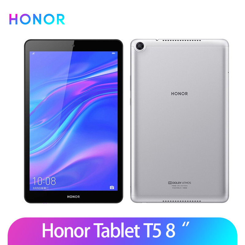 Оригинальный Honor Tablet 5 8 дюймов honor mediapad T5 Android 9,0 Kirin 710 Octa CoreOTG 8.0MP Face ID FHD GPU Turbo 2,0