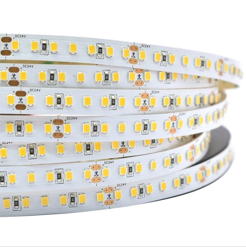LED 2835 Strips Light, 5m A Roll/ A Lot, 60/84/120/140/180pcs 2835 Smd Led Per Meter, DC 12V Or 24V