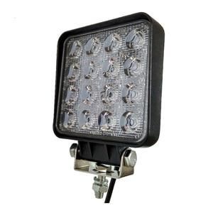 Image 3 - 12V Spot Led Work Light Bar 48W 4inch Offroad Car Headlight for Truck Tractor Boat Trailer 4x4 SUV ATV Led Driving Light Lamp