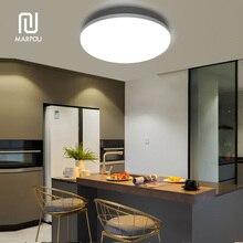цена LED Ceiling Panel Light Lamp Surface Round LED Mounted Modern 6W 9W 13W 18W 24W 36W 48W AC85-265V Down Lighting For Home Lamp онлайн в 2017 году