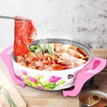 Multifunction Frying Pan Maifan Stone 220V Electric Hot Pot Non-stick Pan 1400W Kitchen Cooking Appliance Multifunctional Cooker automatic cooking robot automatic cooking pot intelligent electric frying pan