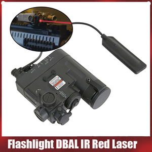 Elemento táctico, linterna Airsoft DBAL IR, láser rojo PEQ 15 DBAL-EMKII, lámpara de caza, pistola, linterna, arma, luz DBAL EX328
