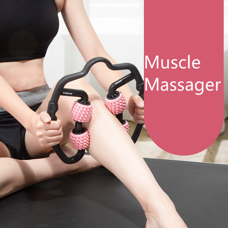 Foam Muscle Roller Massager Leg Neck Hand Arm Muscle Relax Massager Indoor Sports Yoga Bodybuilding Equipment dropshipping