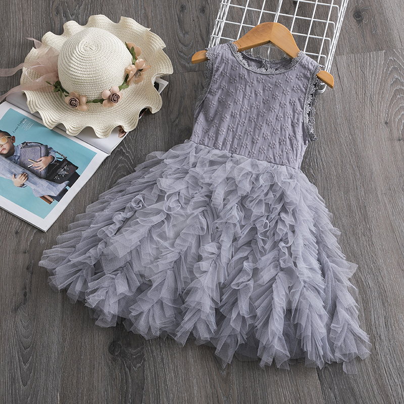 H726dc300999642f896ba6f4d0996181bw Cute Girls Dress 2019 New Summer Girls Clothes Flower Princess Dress Children Summer Clothes Baby Girls Dress Casual Wear 3 8Y