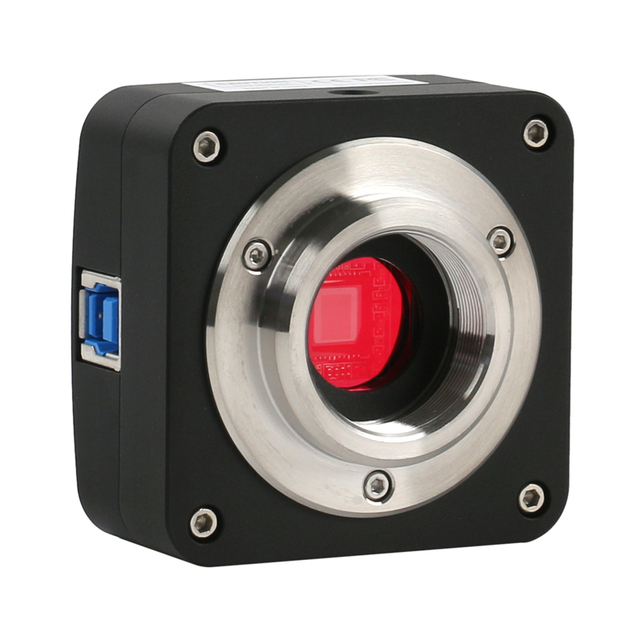 USB 3.0 10MP 5.1MP USB przemysłowy elektroniczny cyfrowy mikroskop wideo kamera C zamontować aparat do laboratorium mikroskop biologiczny
