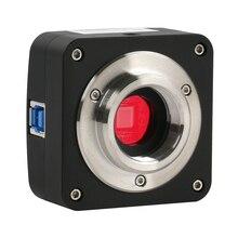 USB 3.0 10MP 5.1MP USB الصناعية الإلكترونية الرقمية كاميرا فيديو مجهر C جبل كاميرا للمختبر ميكروسكوب بيولوجي