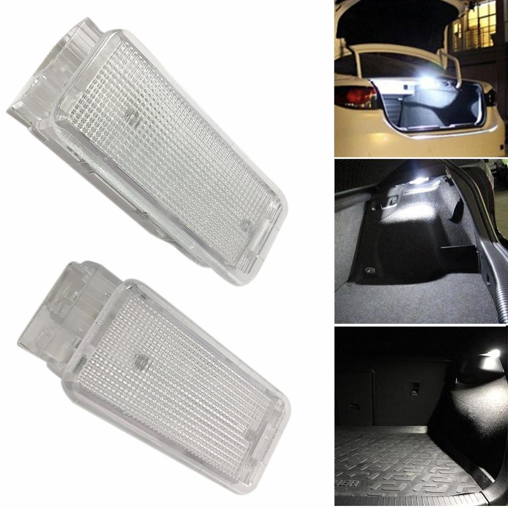 2PCS Per Set <font><b>LED</b></font> Luggage Footwell Compartment Lights Lamp For <font><b>Peugeot</b></font> <font><b>206</b></font> 306 307 308 406 407 VRCZ Interior Dome Light image