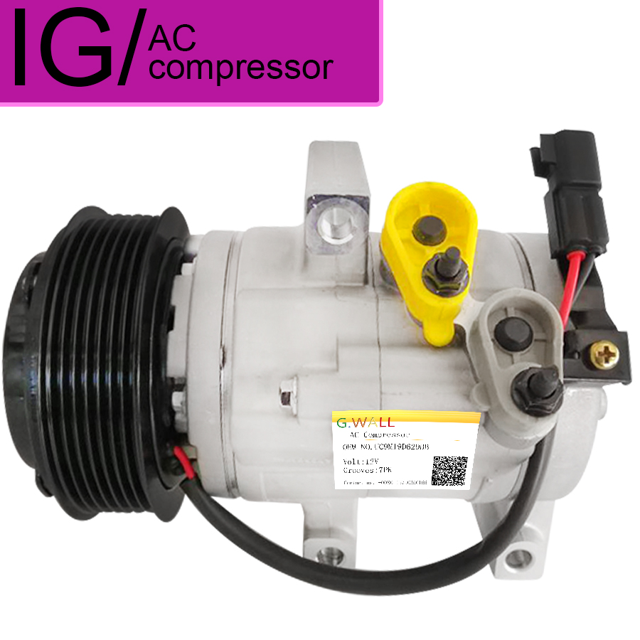 For Ford Ranger Pickup 3.2TDCI 2011 2012 HS13N Auto A/C Compressor 1715092 1715093 UC9M 19D629 BB AB39 19D629 BB UC9M19D629BB|a/c compressor|ford ranger pickup|ford ranger compressor - title=