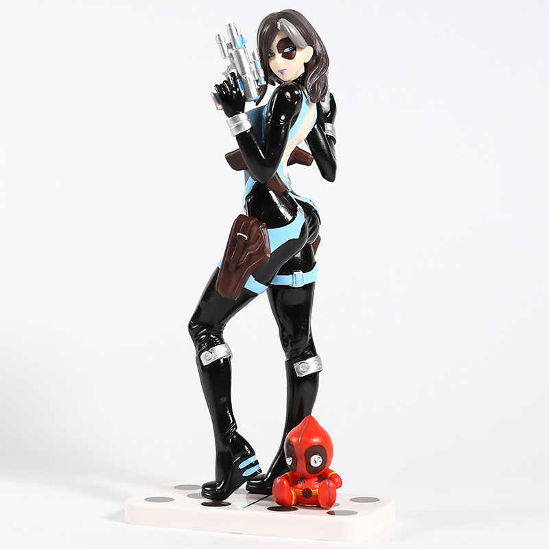 Marvel X-Mannen Domino Neena Thurman Bishoujo 1/7 Schaal PVC Figure Collectible Model Toy