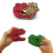 Динозавр пальчиковые игрушки 3d тираннозавр рекс Трицератопс