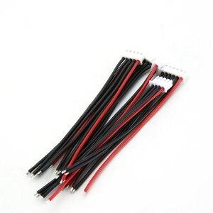 5 шт./лот 100 мм 22AWG разъем RC Lipo зарядное устройство 2s 3s 4s 5s 6s 22AWG кабель Линия для IMAX B3 B6