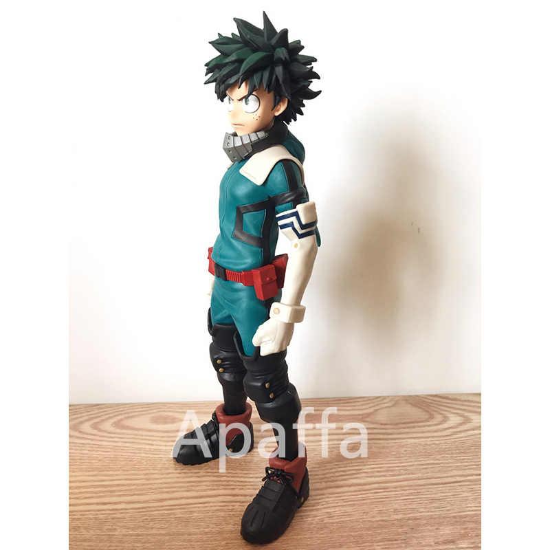 25cm anime meu herói academia figura pvc idade dos heróis estatueta deku ação collectible modelo decorações boneca brinquedos para crianças